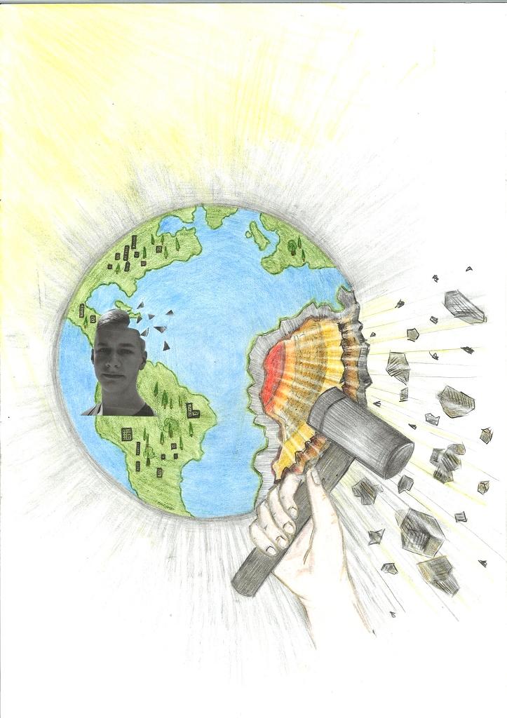 Menschen verursachen Apokalypse
